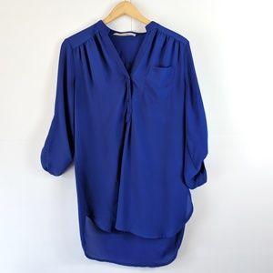 ❤️5 for $25 41 Hawthorne Navy Blue Blouse